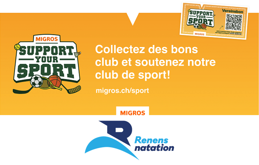Opération « Support your sport » Migros