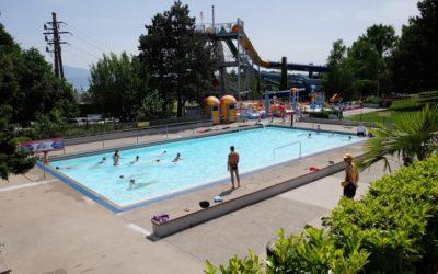 Ecole de natation d'été